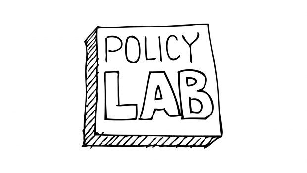This is the Policy Lab Logo. The blog is text based;