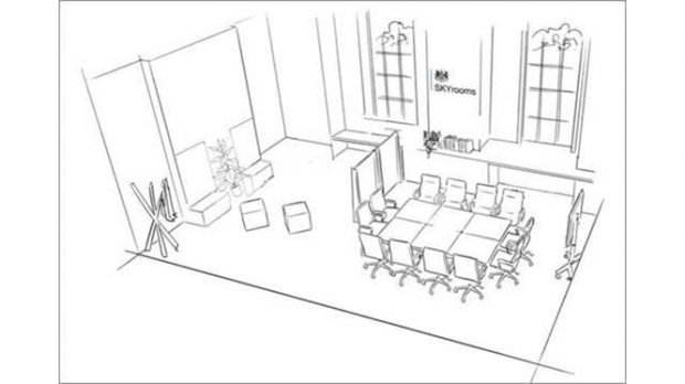 An artists impression of a new room as described in the blog