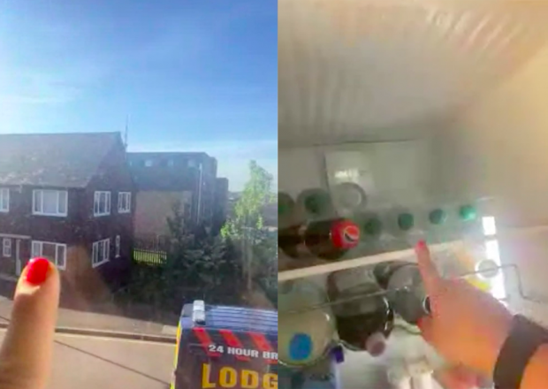 These are two mobile phone screenshots from recent remote video ethnography work.